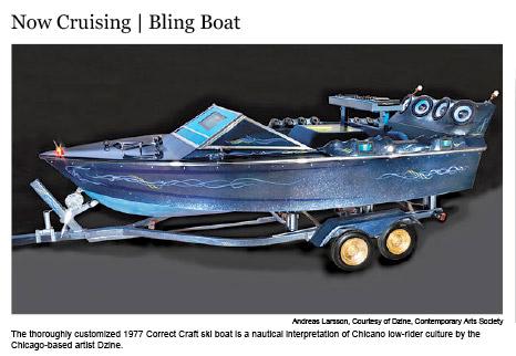 Now Cruising: Bling Boat