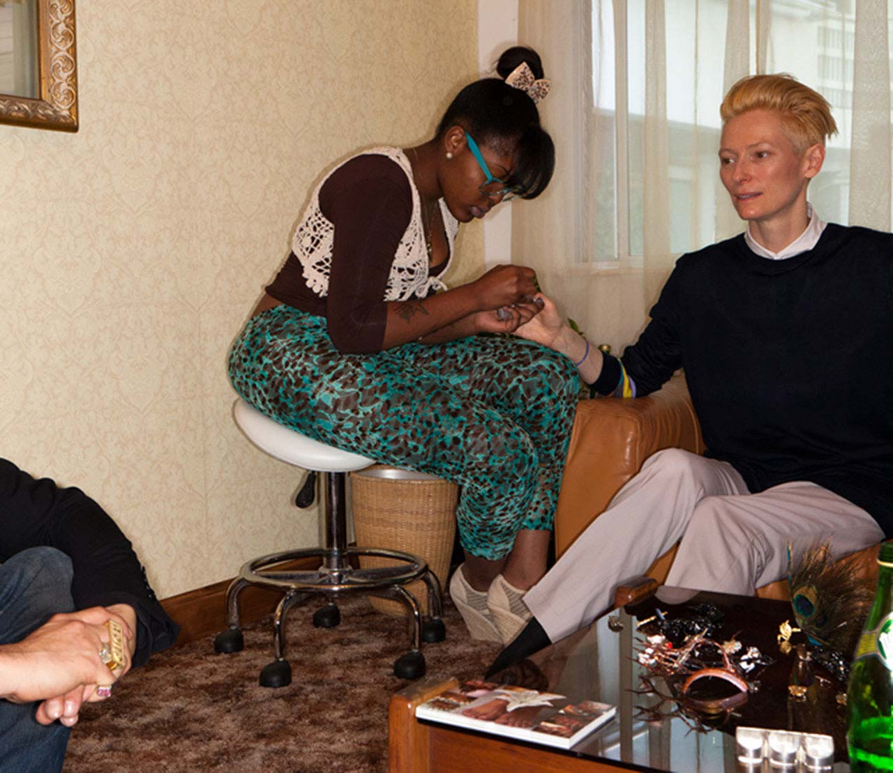 Imperial Nail Salon with Tilda Swinton