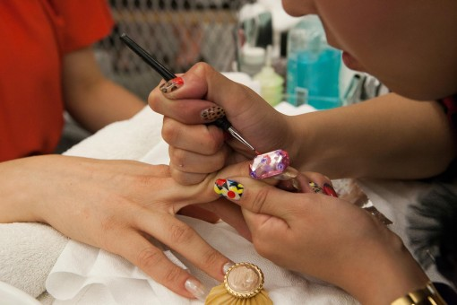 Experience the nail salon as high art at MCA