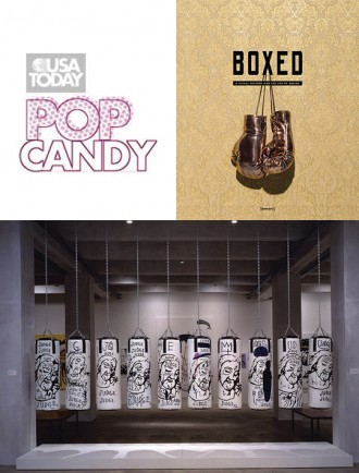 'Boxed': Peek inside this boxing-themed art book