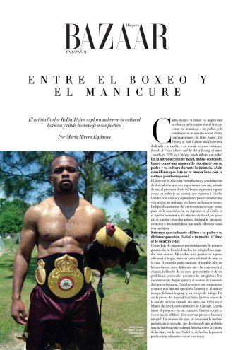 Entre el boxeo y el manicure