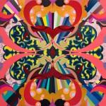 Untitled (Multi-Colored Crest)