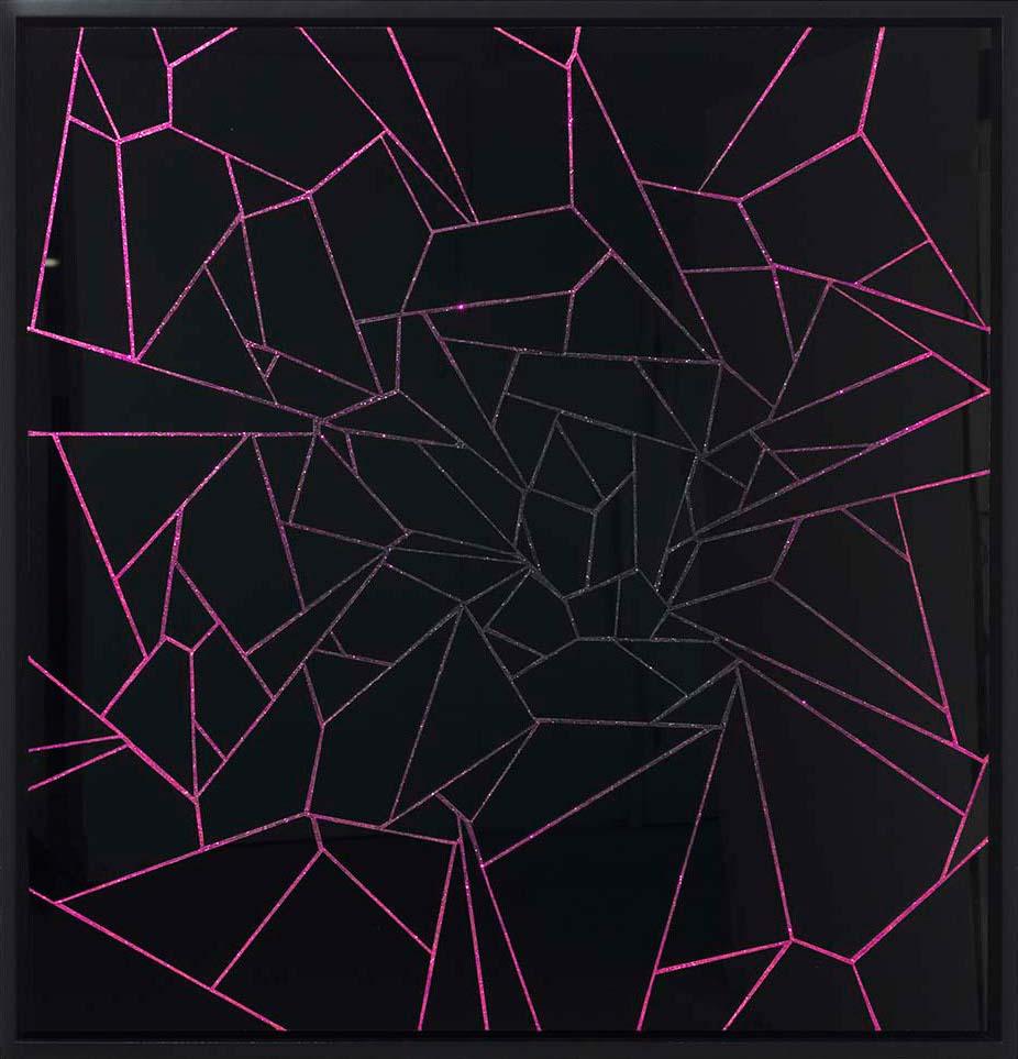 Untitled (Black Velvet Wall)