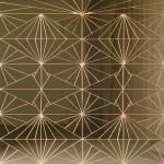 Untitled (double diamond fence)