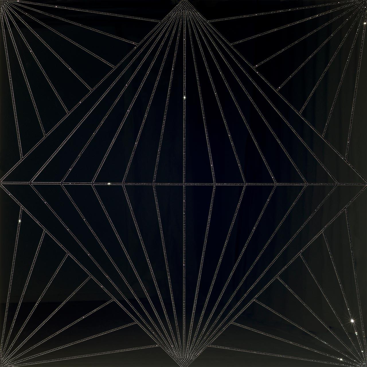Untitled (big diamond fence)