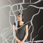 Untitled (Blow Torch Mirror Work)