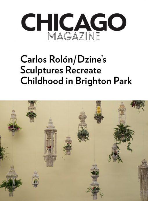 Carlos Rolón/Dzine's Sculptures Recreate Childhood in Brighton Park