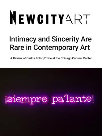 Intimacy and Sincerity Are Rare in Contemporary Art