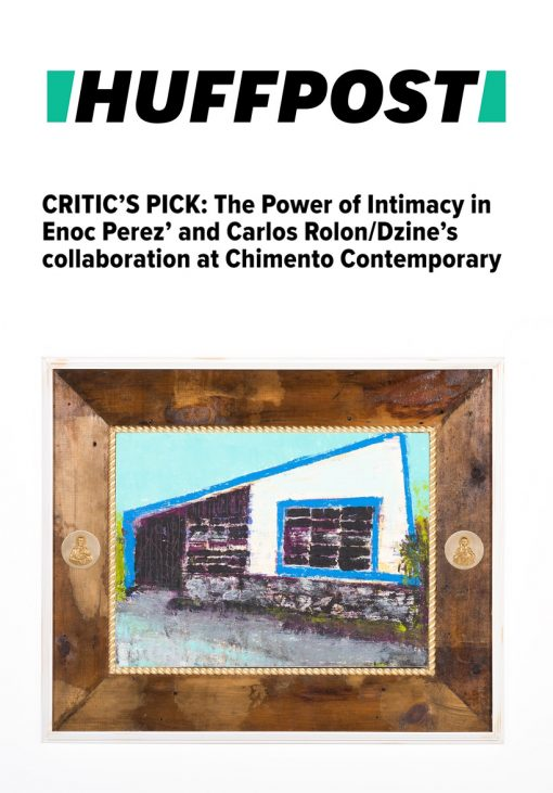 Critic's Pick: The Power of Intimacy in Enoc Perez' and Carlos Rolon/Dzine's collaboration at Chimento Contemporary