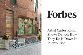 Artist Carlos Rolón Shows Detroit How They Do It Down In Puerto Rico
