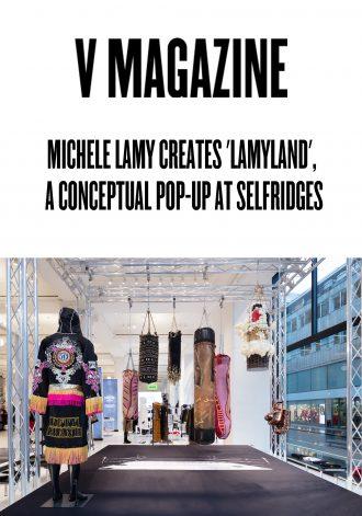 "Michele Lamy Creates ""Lamyland,"" a Conceptual Pop-up at Selfridges"