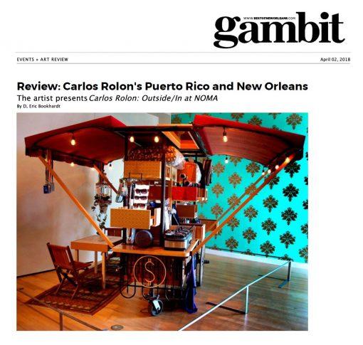Carlos Rolón's Puerto Rico and New Orleans
